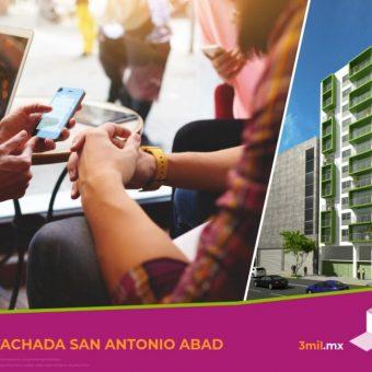 Departamento en Venta en San Antonio Abad, Cdmx
