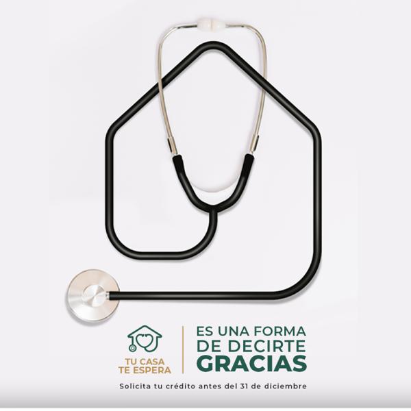 """Reconoce FOVISSSTE labor de trabajadores de la salud y lanza """"Tu Casa te Espera"""""""